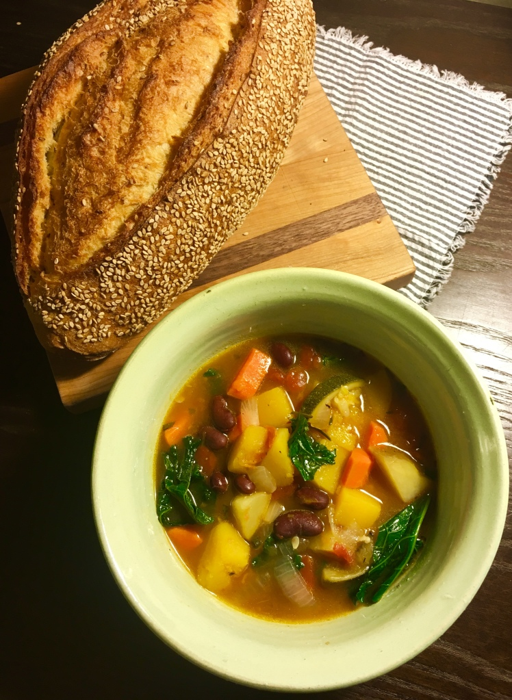 Autumn Veggie Soup